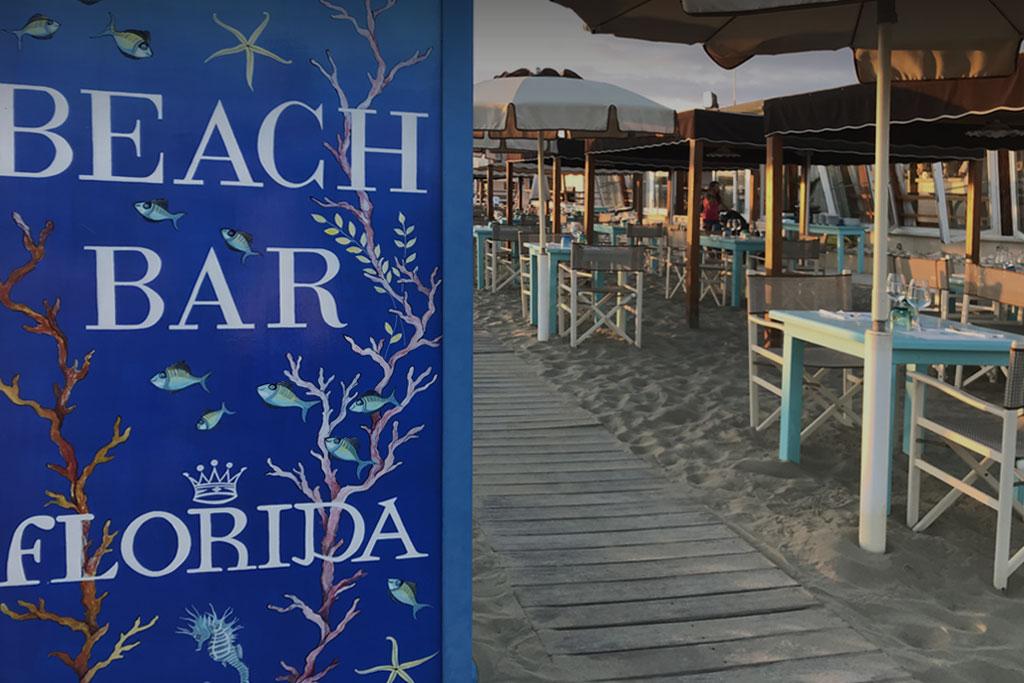 bagno florida beach viareggio beach bar servizio in spiaggia aperitivo spuntino