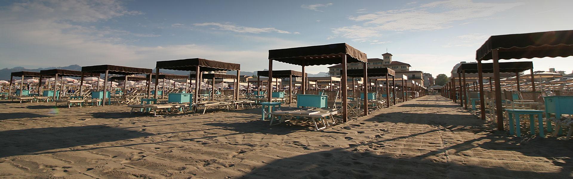 Bagno florida beach spiaggia viareggio tende