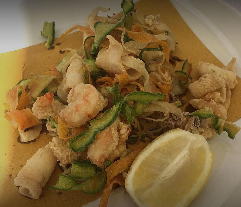 ristorante bagno florida beach viareggio in spiaggia pranzo cena a base di pesce fritto mare versilia
