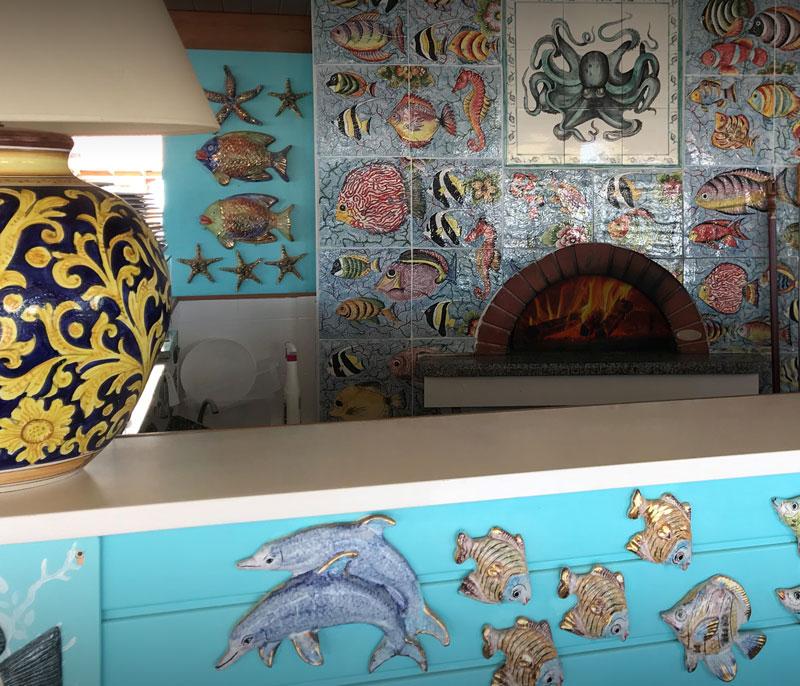 ristorante bagno florida beach viareggio servizio in spiaggia pizzeria forno a legna