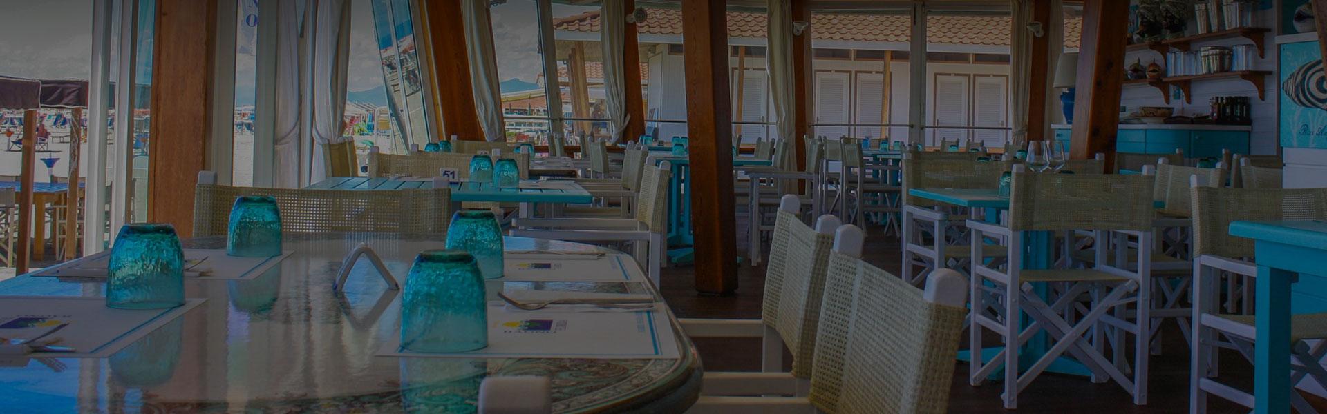 ristorante bagno florida beach viareggio servizio in spiaggia terrazza sul mare pizzeria